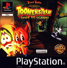 Tiny Toon Adventures: Toonenstein - Dare to Scare (б/у) для Sony PlayStation 1