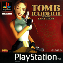 Tomb Raider II (Sony PlayStation 1) (PAL) cover