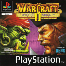 Warcraft II: The Dark Saga (Sony PlayStation 1) (PAL) cover