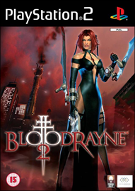 BloodRayne 2 (Sony PlayStation 2) (PAL) cover