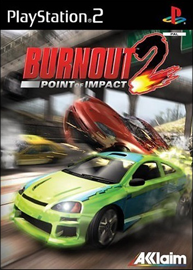 Burnout 2: Point of Impact (б/у) для Sony PlayStation 2