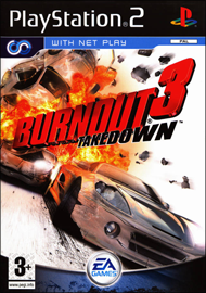 Burnout 3: Takedown (Sony PlayStation 2) (PAL) cover