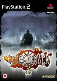 Clock Tower 3 (Sony PlayStation 2) (PAL) cover