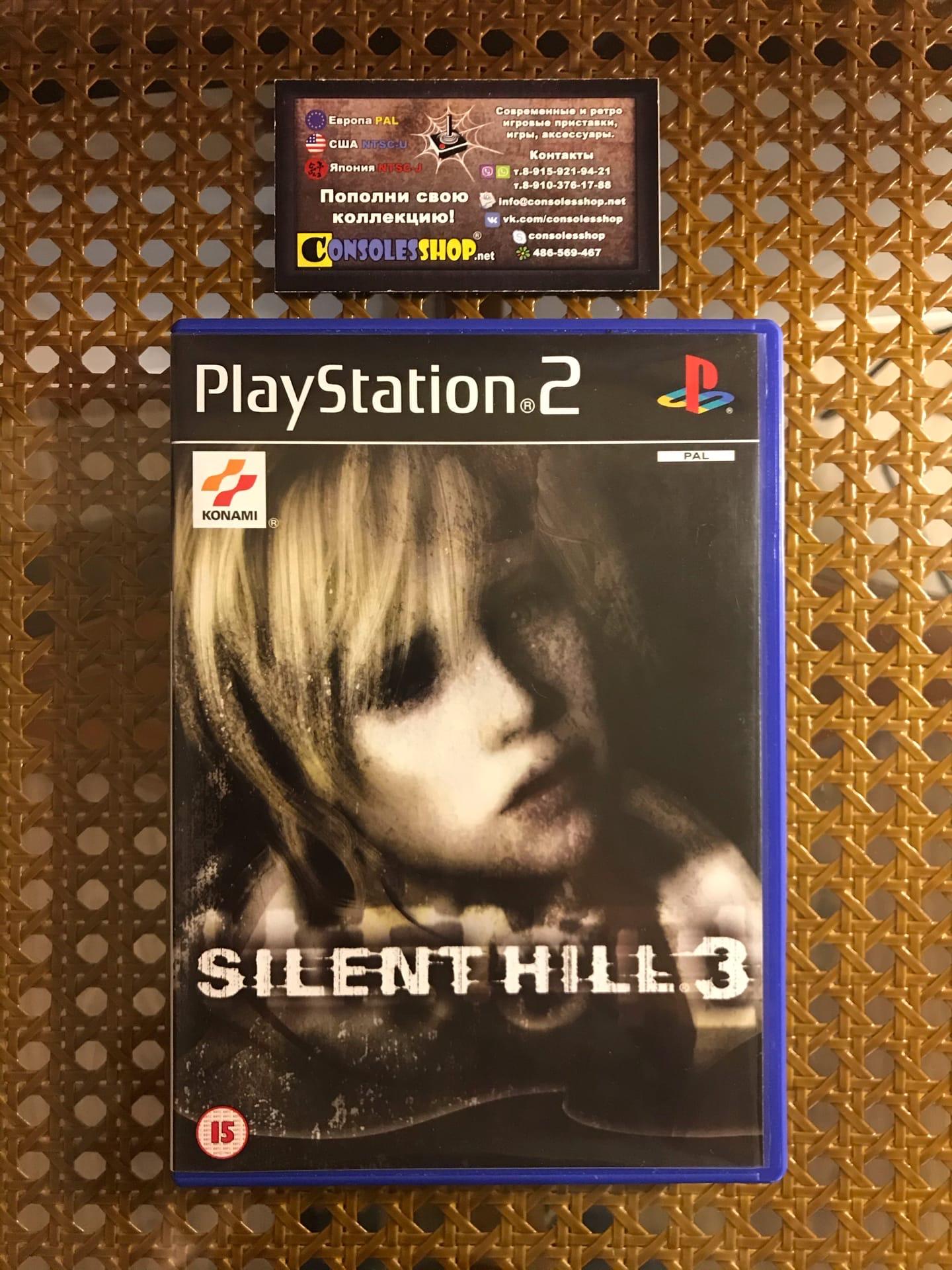 Купить игру Silent Hill 3 (PS2) (PAL) | CONSOLESSHOP