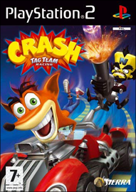 Crash Tag Team Racing (Sony PlayStation 2) (PAL) cover