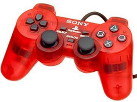 Геймпад DualShock 2 - Crimson Red (б/у) для Sony PlayStation 2