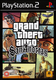 Grand Theft Auto: San Andreas (Sony PlayStation 2) (PAL) cover