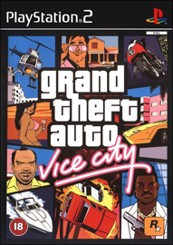 Grand Theft Auto: Vice City (Sony PlayStation 2) (PAL) cover
