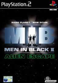 Men in Black II: Alien Escape (Sony PlayStation 2) (PAL) cover