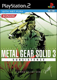 Metal Gear Solid 3: Subsistence (б/у) для Sony PlayStation 2