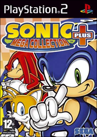Sonic Mega Collection Plus (Sony PlayStation 2) (PAL) cover