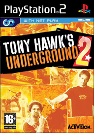 Tony Hawk's Underground 2 (Sony PlayStation 2) (PAL) cover