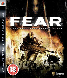 F.E.A.R. (Sony PlayStation 3) (EU) cover
