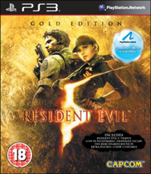 Resident Evil 5: Gold Edition (Move Edition) (б/у) для Sony PlayStation 3