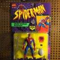 Battle Ravaged Spider-Man - Secret Storage Backpack! | Toy Biz 1994 фото-1
