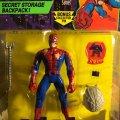 Battle Ravaged Spider-Man - Secret Storage Backpack! | Toy Biz 1994 фото-2