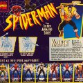 Kraven - Spear Throwing Action / Spider-Man: The Animated Series - Toy Biz 1994