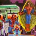 Sky Scraper Stunt Set - Oscorp Spidey Glider | Toy Biz 1994 фото-2