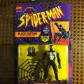 Spider-Man Black Costume with Web-Climbing Action | Spider-Man: The Animated Series - Toy Biz 1994 фото-1