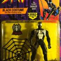 Spider-Man Black Costume with Web-Climbing Action | Spider-Man: The Animated Series - Toy Biz 1994 фото-2