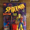 Spider-Man Web Parachute Action / Spider-Man: The Animated Series - Toy Biz 1994 фото-1