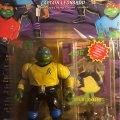 Captain Leonardo - The Wacky Warp Drivin' Leader! | Teenage Mutant Ninja Turtles (Star Trek) - Playmates Toys 1994 фото-2