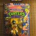 Lieutenant Leo - The Desert Duelin' Dude! | Teenage Mutant Ninja Turtles (Mutant Military) - Playmates Toys 1991 фото-1