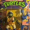Lieutenant Leo - The Desert Duelin' Dude! | Teenage Mutant Ninja Turtles (Mutant Military) - Playmates Toys 1991 фото-2