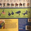 Lieutenant Leo - The Desert Duelin' Dude! | Teenage Mutant Ninja Turtles (Mutant Military) - Playmates Toys 1991 фото-5