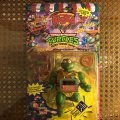 Pizza Tossin' Raph - The Sewer Servin' Sauce Master! | Teenage Mutant Ninja Turtles (Pizza Tossin') - Playmates Toys 1988 фото-1