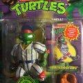 Portrait of Grand Slammin' Raph - The Baseball Bashin' Batter!   Teenage Mutant Ninja Turtles (Sewer Sports All-Stars) - Playmates Toys 1994 фото-2