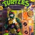 Rappin' Mike - The Record Rappin' Reptile! | Teenage Mutant Ninja Turtles (Rock'n Rollin) - Playmates Toys 1988 фото-2