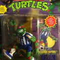 Shell Kickin' Raph - The Super Sewer Soccer Player!   Teenage Mutant Ninja Turtles (Sewer Sports All-Stars) - Playmates Toys 1994 фото-2