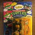 "Talkin' Michelangelo - ""Pizza Time!"" & ""Kowabunga!""   Teenage Mutant Ninja Turtles (World's First Talking Mutant Figures!) - Playmates Toys 1991 фото-1"