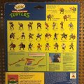 "Talkin' Michelangelo - ""Pizza Time!"" & ""Kowabunga!""   Teenage Mutant Ninja Turtles (World's First Talking Mutant Figures!) - Playmates Toys 1991 фото-3"