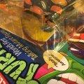"Talkin' Michelangelo - ""Pizza Time!"" & ""Kowabunga!""   Teenage Mutant Ninja Turtles (World's First Talking Mutant Figures!) - Playmates Toys 1991 фото-6"