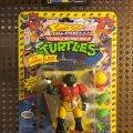 T.D. Tossin' Leo - The Pigskin Passin' Football Fighter! | Teenage Mutant Ninja Turtles (Sewer Sports All-Stars) - Playmates Toys 1991 фото-1