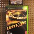 DRIV3R (Microsoft XBOX) (NTSC-U) (б/у) фото-1