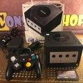 Игровая консоль Nintendo GameCube (DOL-001) (Black) (PAL) (Boxed) (б/у) фото-1