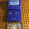 Портативная консоль Nintendo Game Boy Advance SP (б/у) - синий