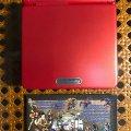 Портативная консоль Nintendo Game Boy Advance SP (б/у) - красный
