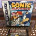 Sonic Advance (Nintendo Game Boy Advance) (EU) (б/у) фото-1