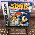 Sonic Advance (Nintendo Game Boy Advance) (EU) (б/у) фото-2