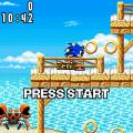 Sonic Advance (GBA) скриншот-2