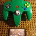 Игровая приставка Nintendo 64 NUS-001 чёрная (б/у) + игра The Legend of Zelda: Ocarina of Time (б/у)