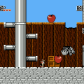 Disney's Chip 'n Dale: Rescue Rangers (NES) скриншот-2