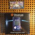 Visual Memory Unit синий для Sega Dreamcast