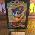 Sonic the Hedgehog (Sega Genesis) (NTSC-U) (б/у) фото-1