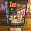 Taz in Escape from Mars (б/у) для Sega Mega Drive