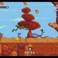 Desert Demolition Starring Road Runner and Wile E. Coyote для Sega Mega Drive